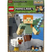 LEGO Minecraft 21149 veľká figúrka: Alex so sliepkou