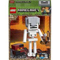 LEGO Minecraft 21150 veľká figúrka: Kostra s pekelným slizom