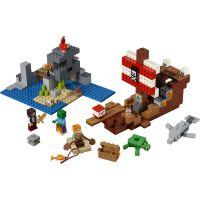 LEGO Minecraft 21152 Dobrodružstvo na pirátskej lodi