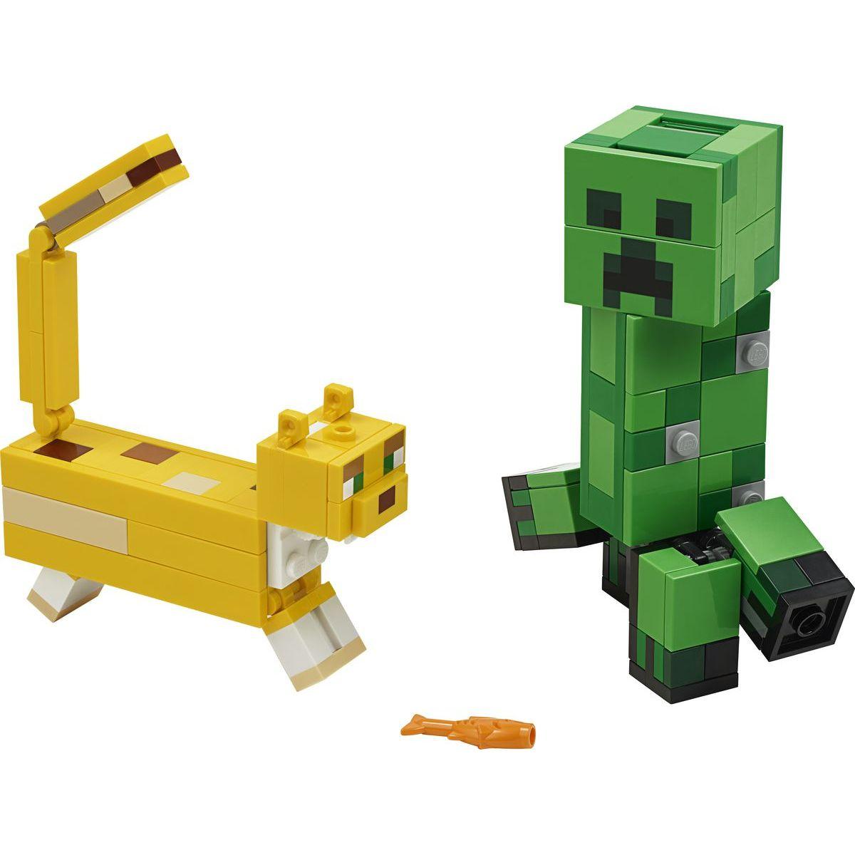 LEGO Minecraft 21156 Veľká figúrka: Creeper™ a Ocelot