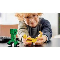 LEGO Minecraft 21156 Veľká figúrka: Creeper™ a Ocelot 4