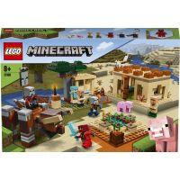 LEGO Minecraft 21160 Útok Illagerov 2