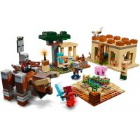 LEGO Minecraft 21160 Útok Illagerov 3
