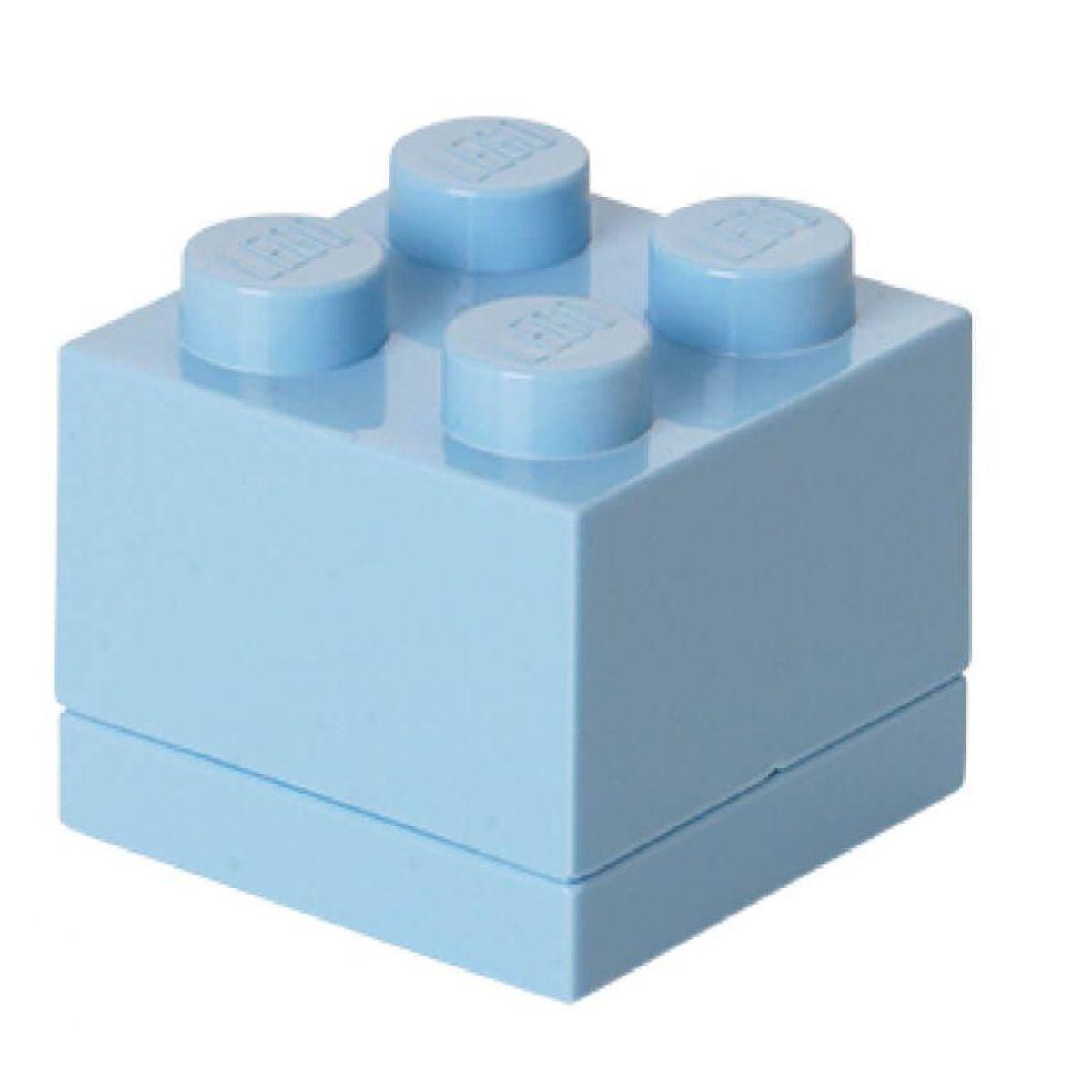 LEGO Mini Box 46 x 46 x 43 mm svetlomodrá