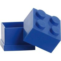 LEGO Mini Box 4,6 x 4,6 x 4,3 cm modrá 2