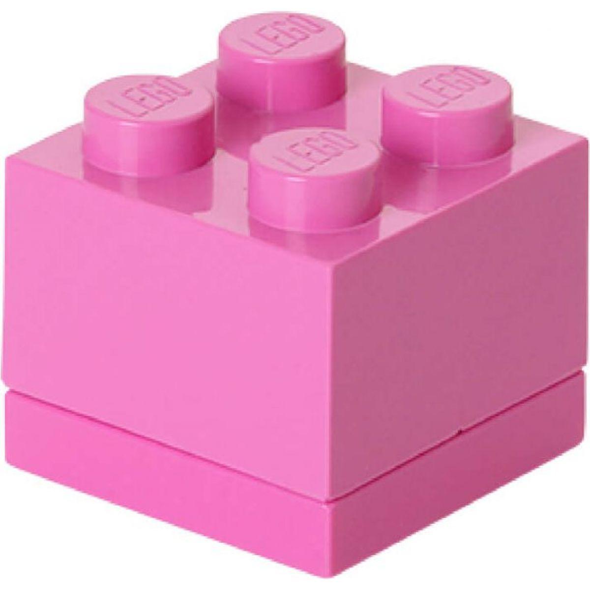 LEGO Mini Box 4,6 x 4,6 x 4,3 cm Ružová