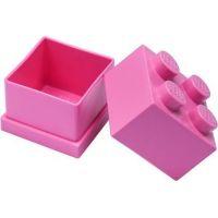 LEGO Mini Box 4,6 x 4,6 x 4,3 cm Ružová 2