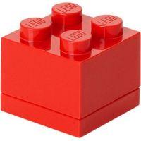 LEGO Mini Box 4,6 x 4,6 x 4,3 cm červený