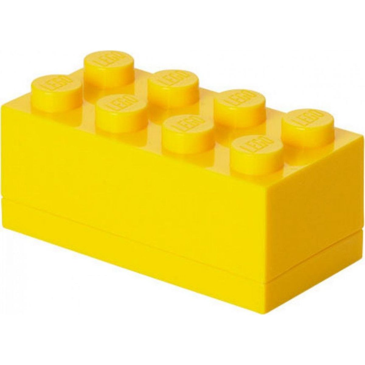 LEGO Mini Box 4,6 x 9,3 x 4,3 cm žltý