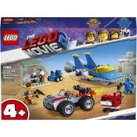 LEGO Movie 70821 Emmetova a Bennyho dielňa Postav a oprav