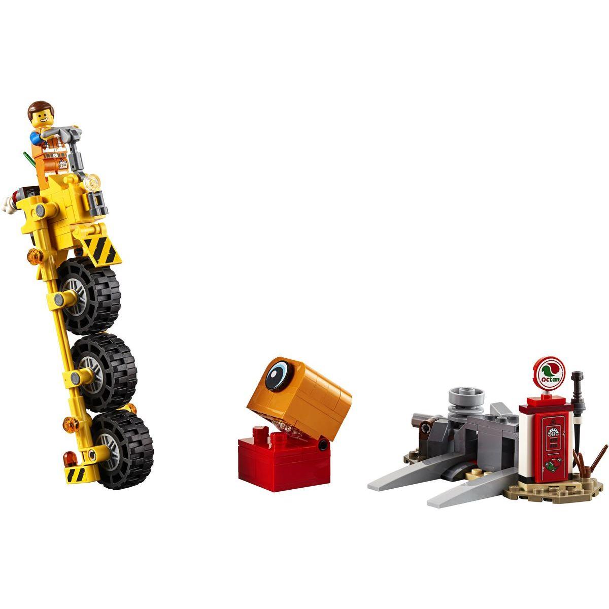 LEGO Movie 70823 Emmetova trojkolka!