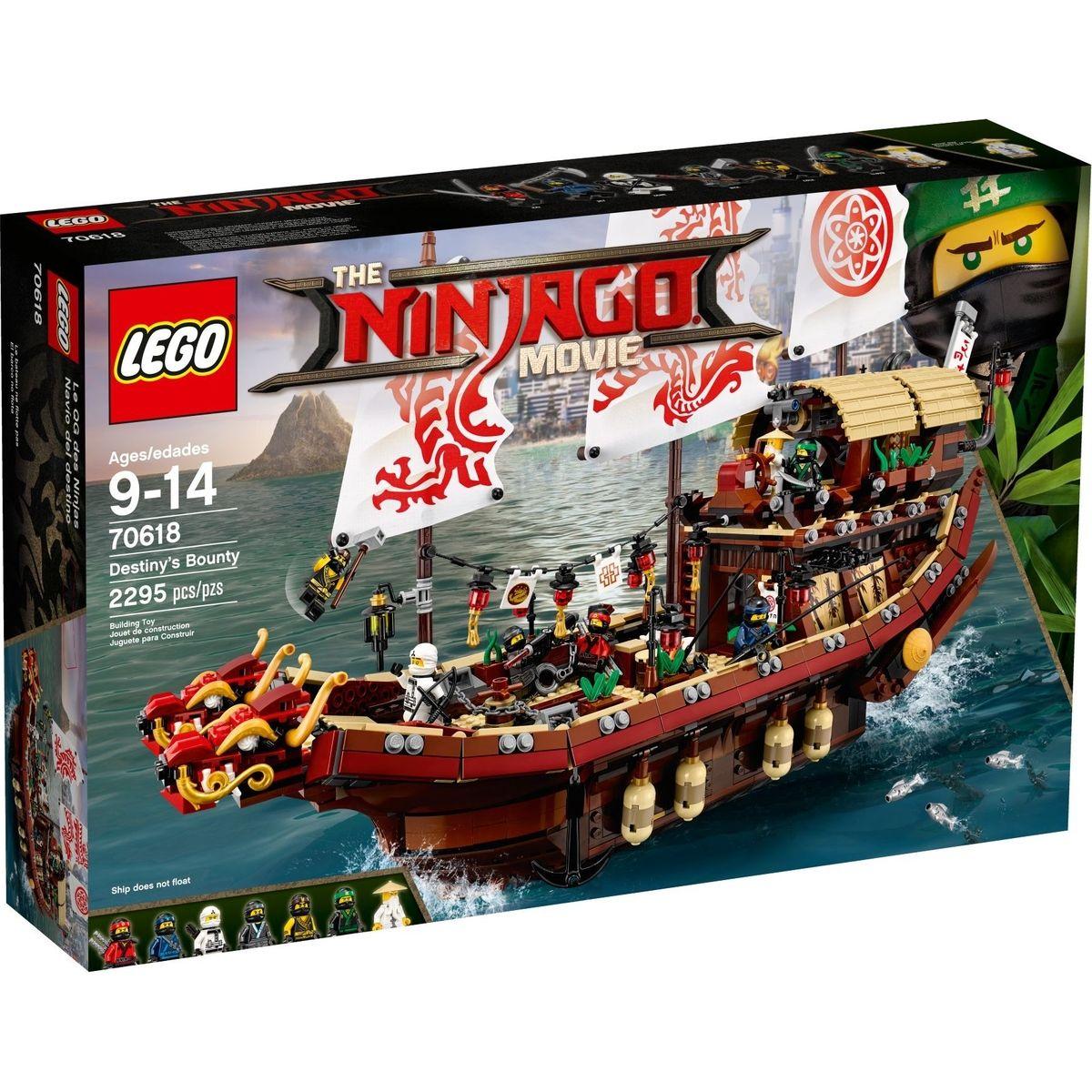 LEGO Ninjago 70618 Odmena osudu - Poškodený obal