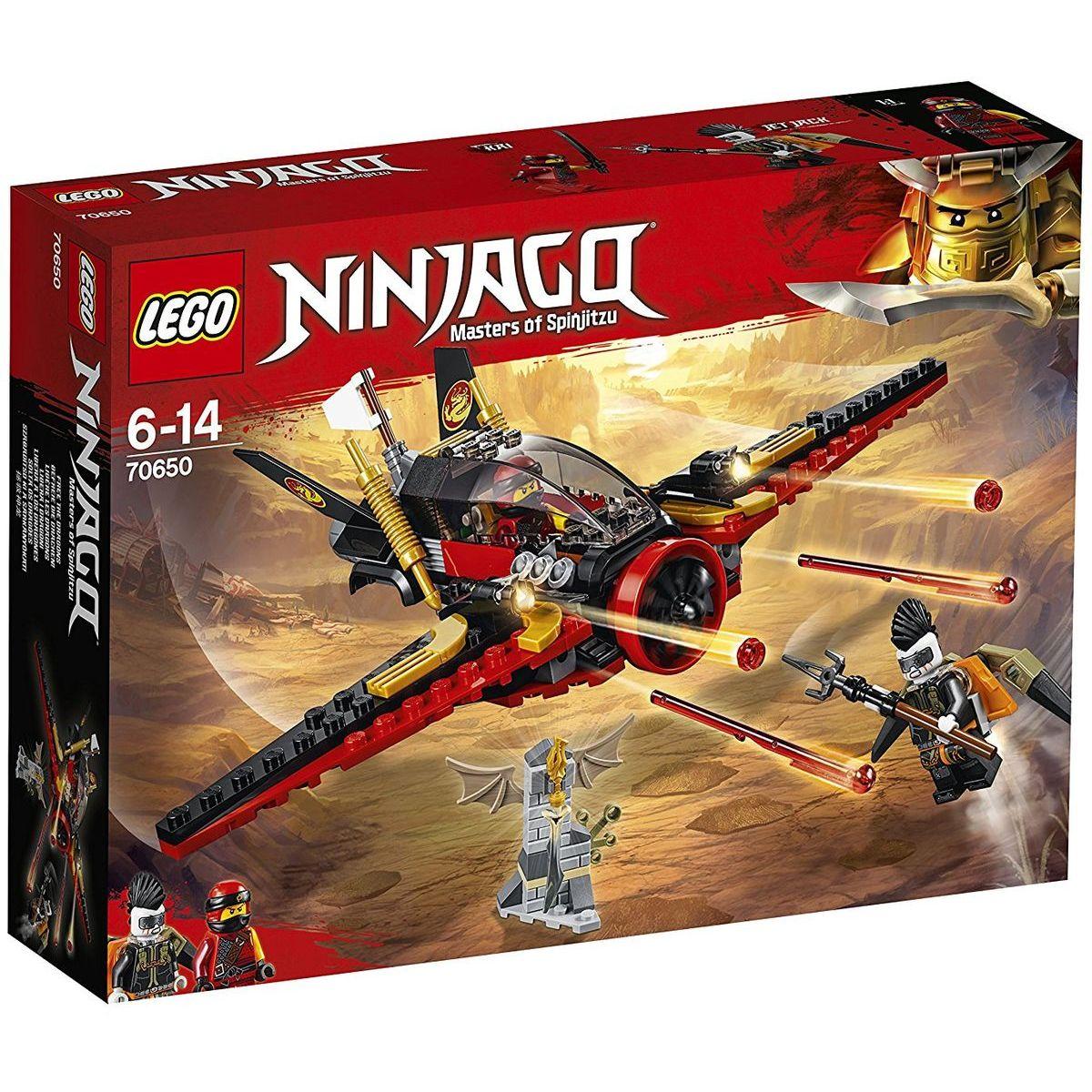 LEGO Ninjago 70650 Krídlo osudu - Poškodený obal