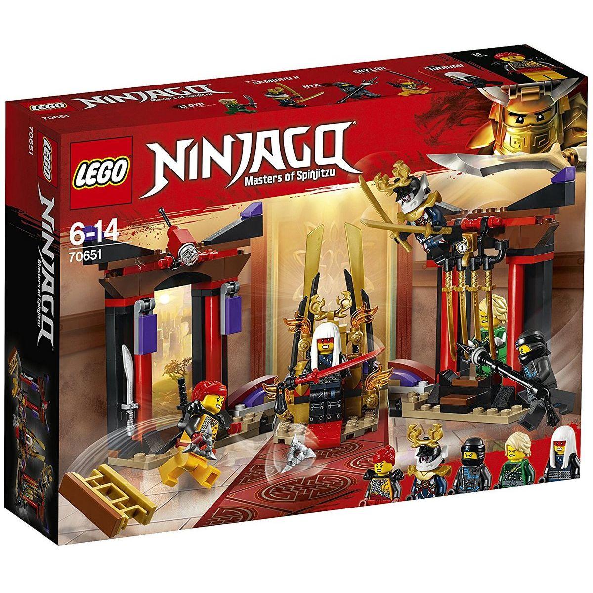 LEGO Ninjago 70651 Súboj v trónnej sále - Poškodený obal