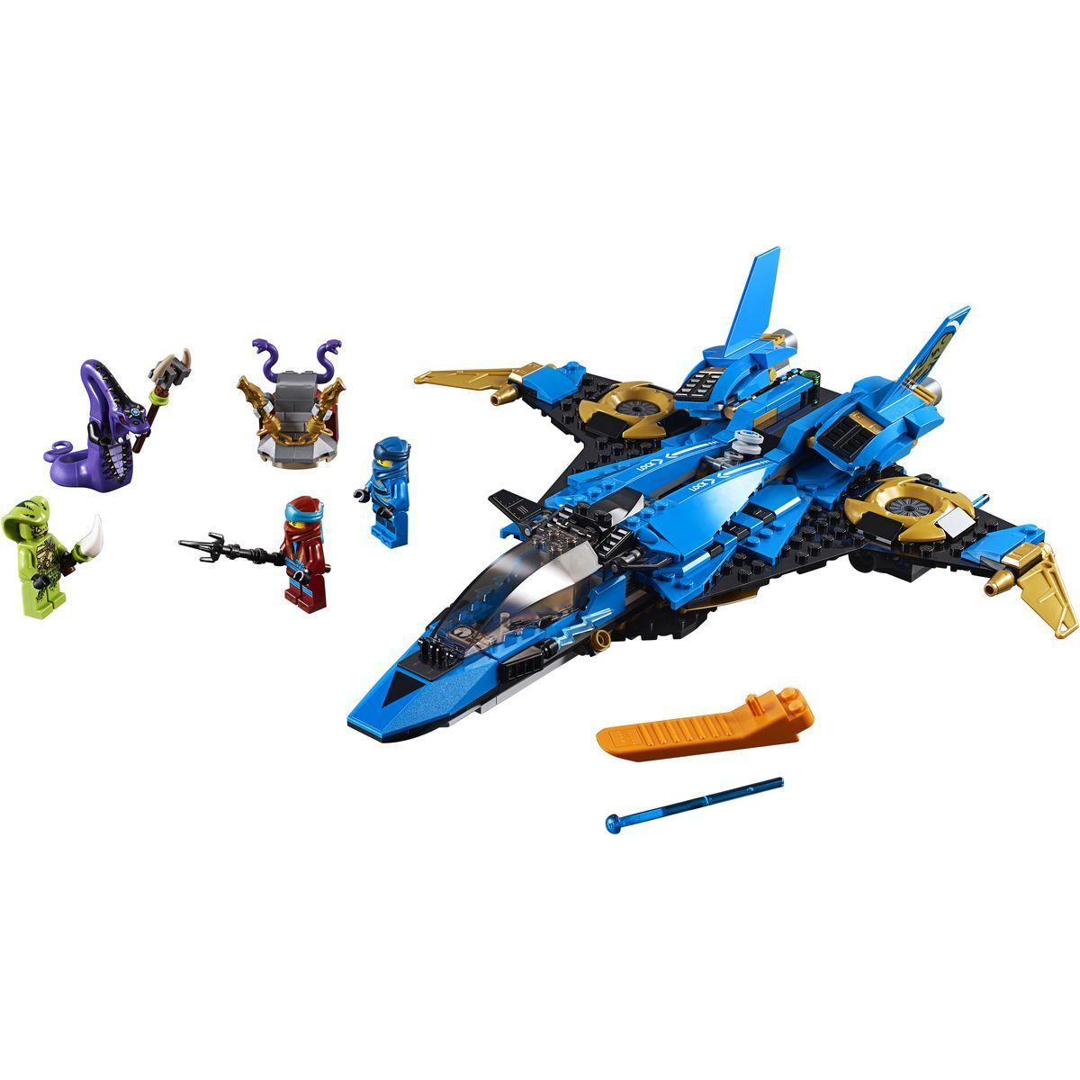 LEGO Ninjago 70668 Jayov búrkový letún