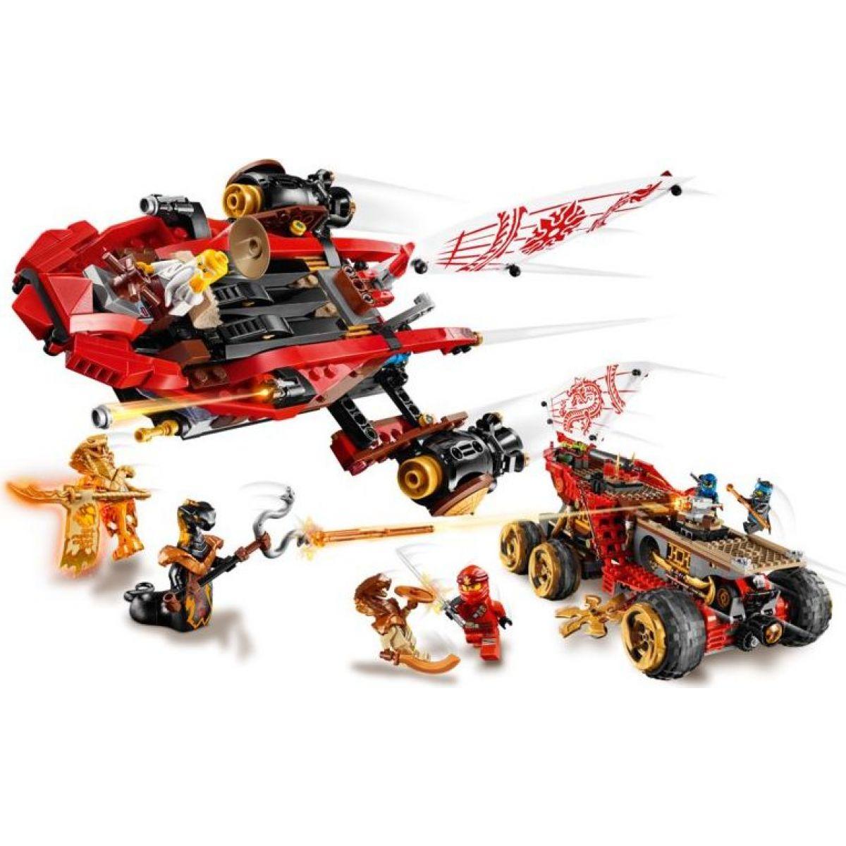 LEGO Ninjago 70677 Pozemná Odmena osudu