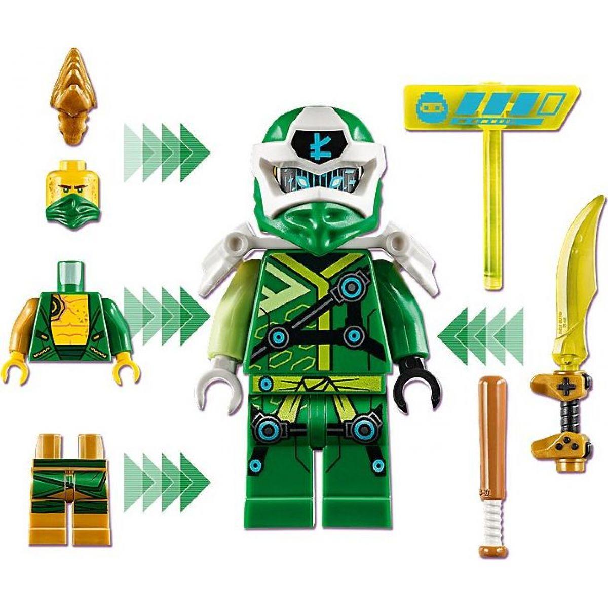 LEGO Ninjago 71716 Lloydová avatar - arkádový automat