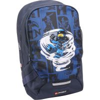LEGO Ninjago Spinjitsu JAY školský batoh