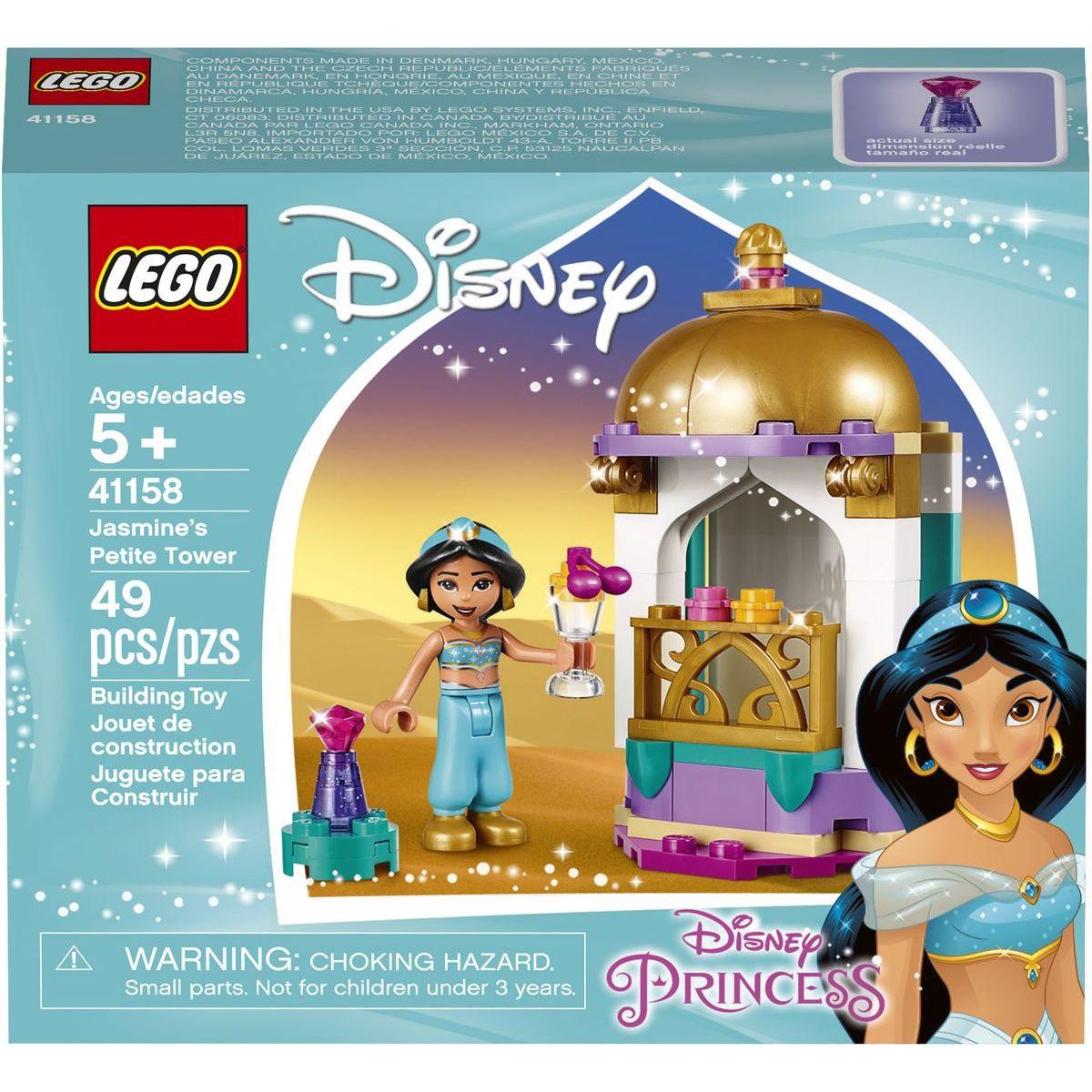 LEGO Princezné 41158 Jazmína a jej vežička