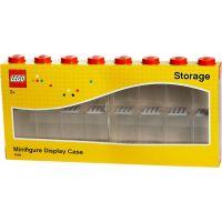 LEGO Zberateľská skrinka na 16 minifigúrok červená 3