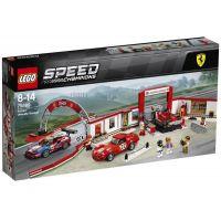 LEGO Speed Champions 75889 Ferrari garáž