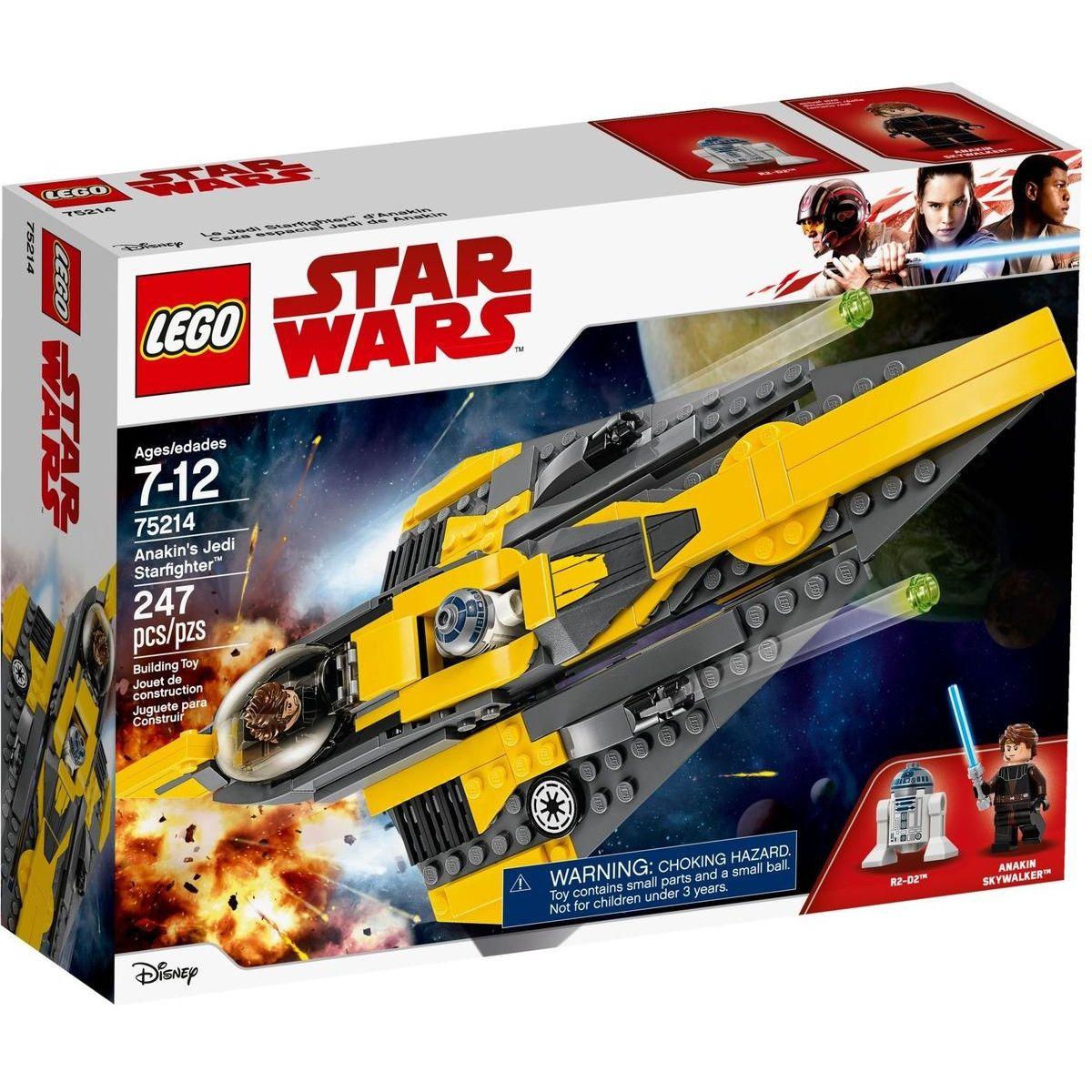 LEGO Star Wars 75214 Anakinov jediský Starfighter™
