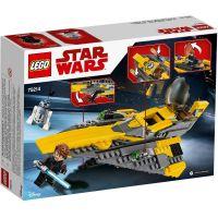 LEGO Star Wars 75214 Anakinov jediský Starfighter™ 2