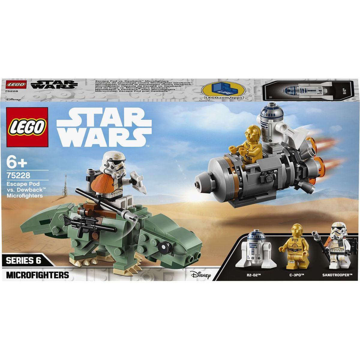 LEGO Star Wars 75228 Únikový modul vs. Dewback™