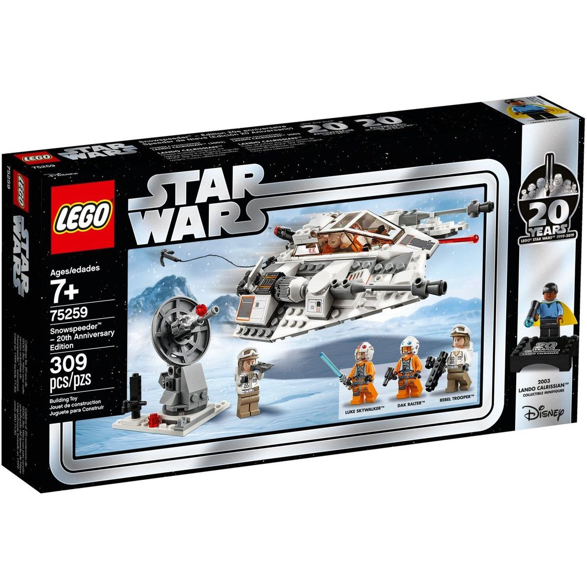 LEGO Star Wars 75259 Snežný spíder – edícia k 20. výročiu