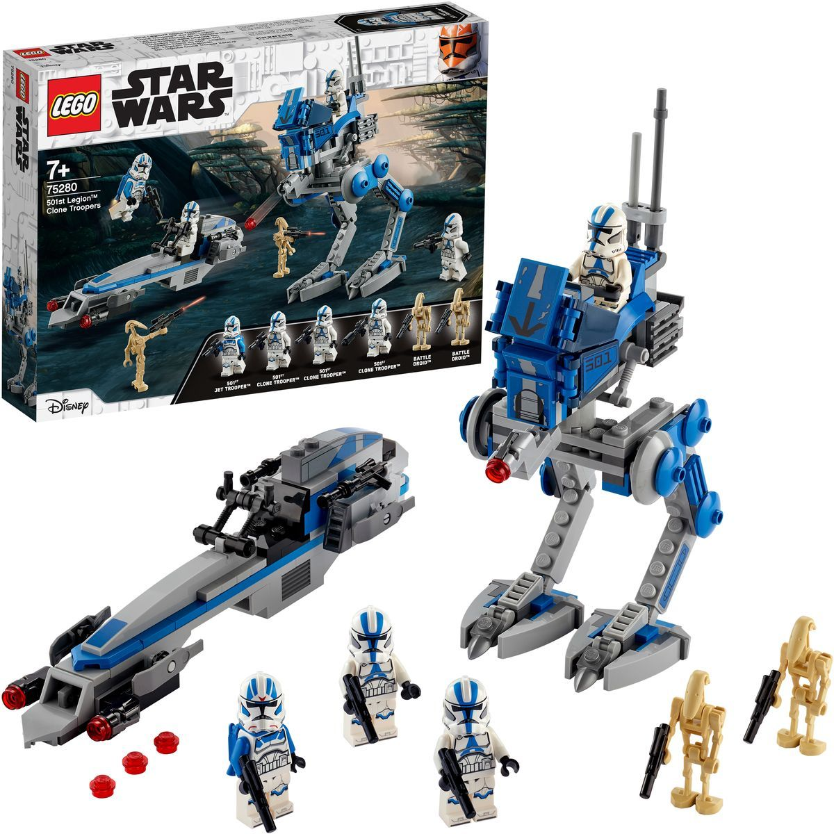 LEGO® Star Wars™ 75280 Klonoví vojaci z 501 legie