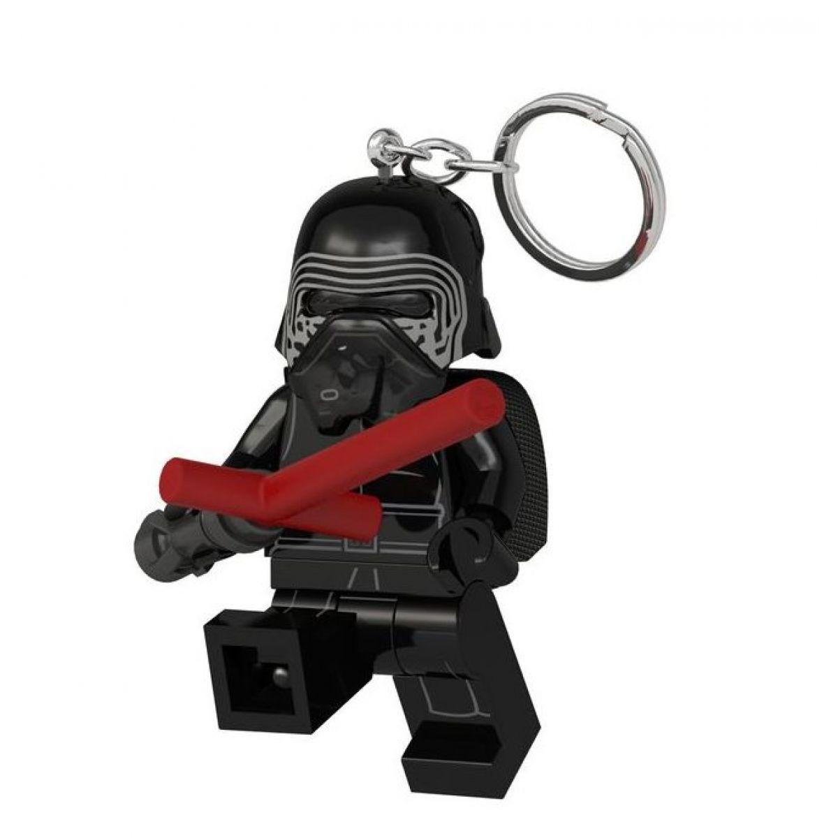 LEGO Star Wars Kylo Ren so svetelným mečom svietiaca figúrka
