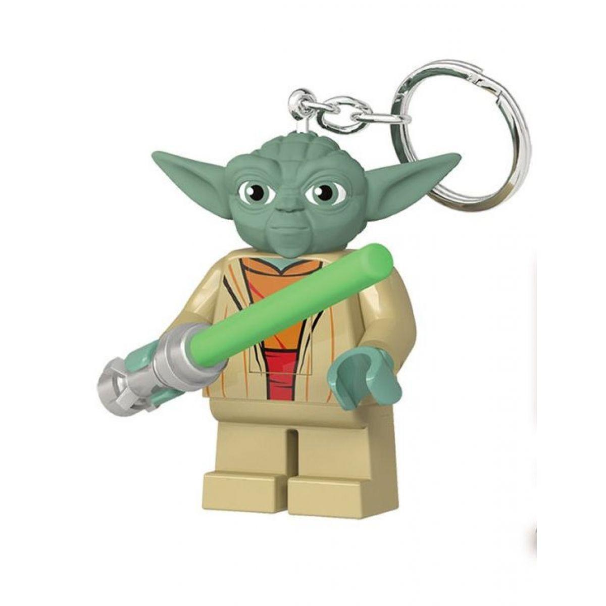 LEGO Star Wars Yoda se svetelným mečom svietiaca figúrka
