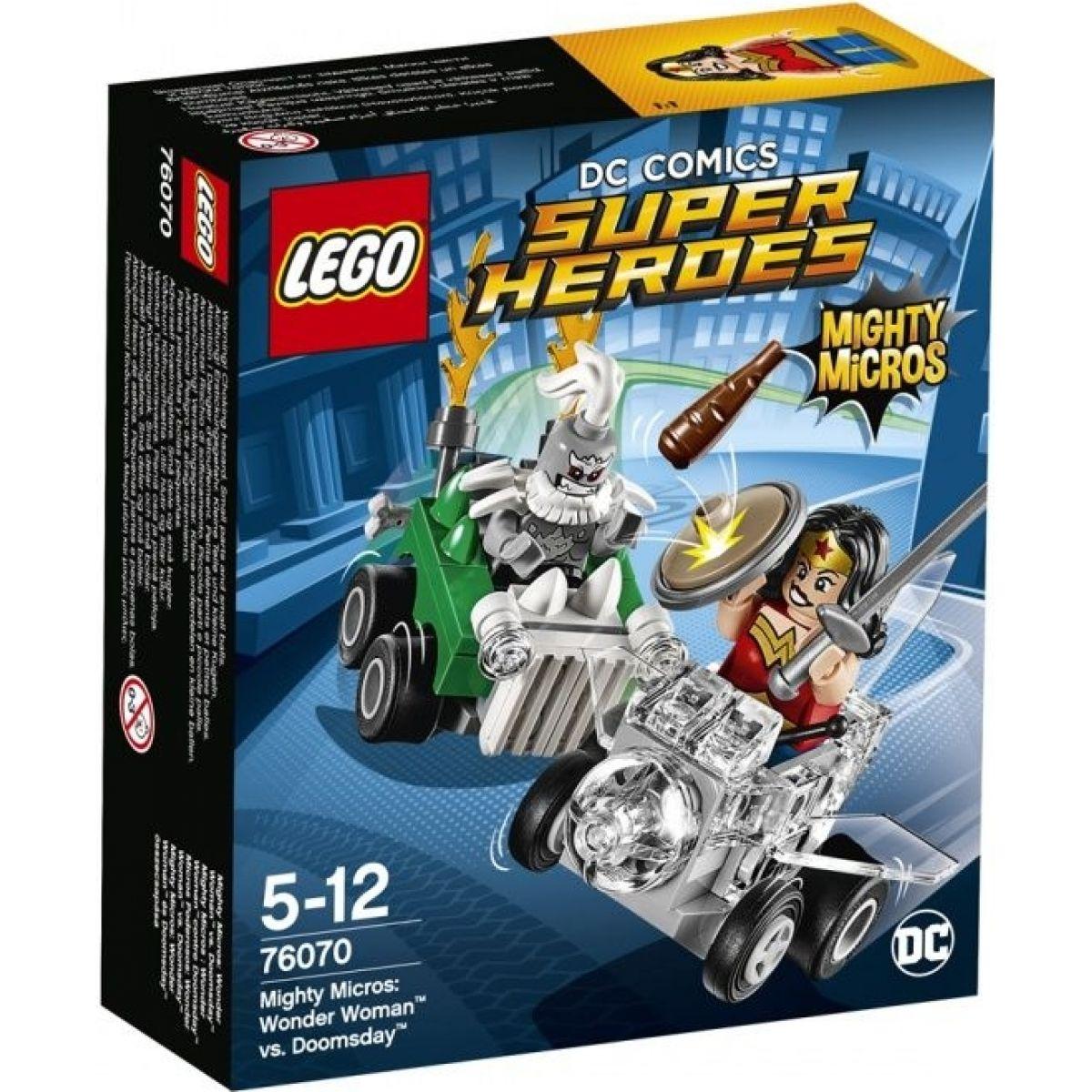LEGO Super Heroes 76070 Mighty Micros: Wonder Woman vs- Doomsday
