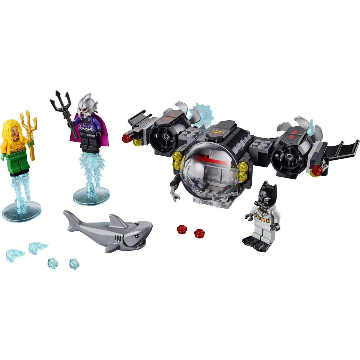 LEGO Super Heroes 76116 Batman™, jeho Batponorka a súboj pod vodou