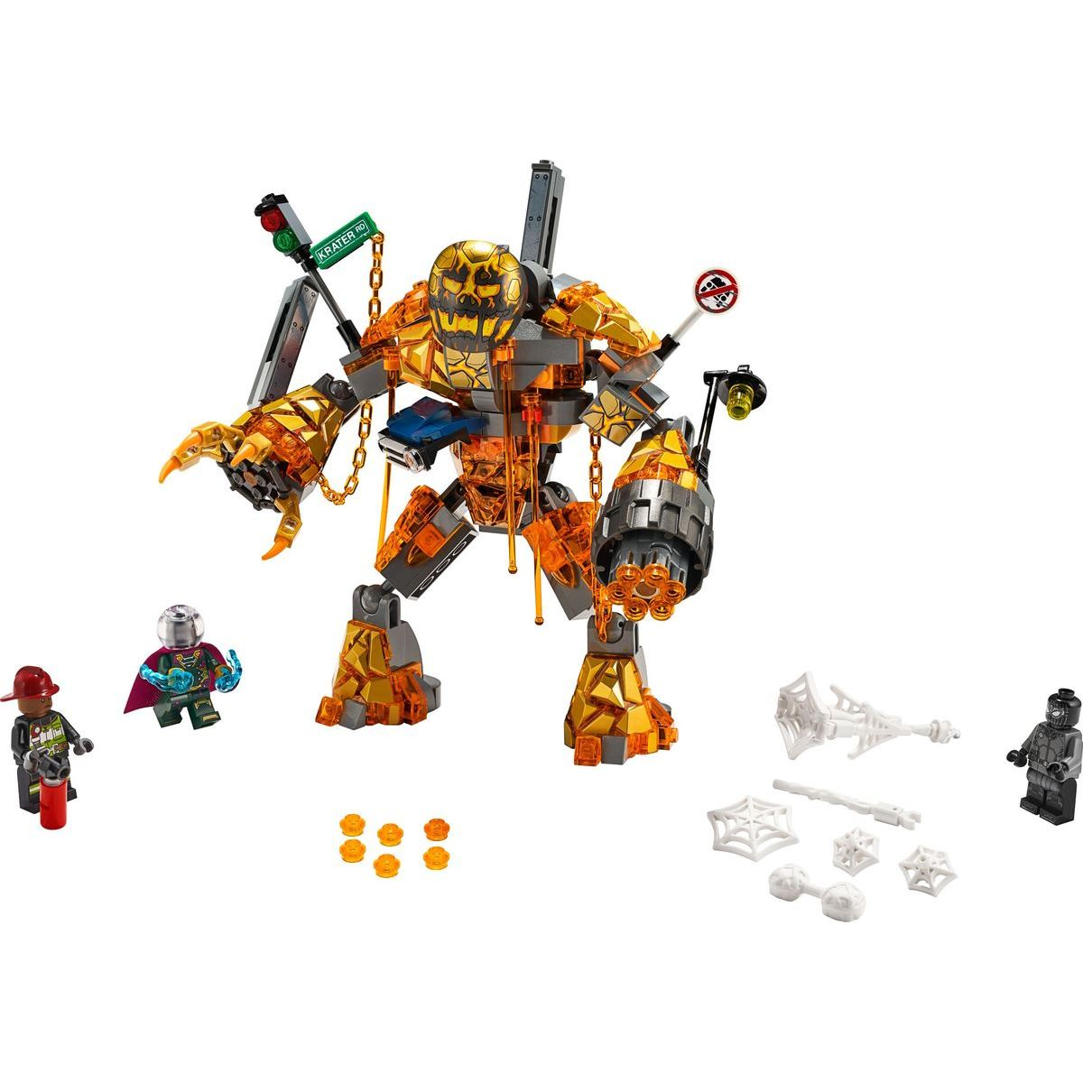 LEGO Super Heroes 76128 Boj s Molten Manom