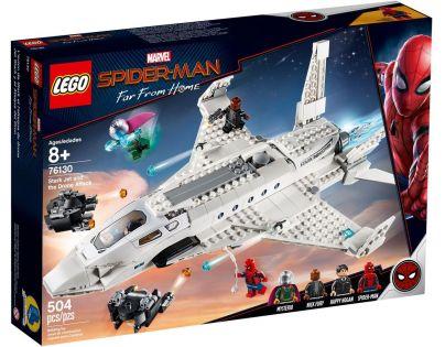 LEGO Super Heroes 76130 Tryskáč Tonyho Starka a útok dronu