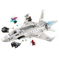 LEGO Super Heroes 76130 Stíhačka Tonyho Starka a útok dronov 3