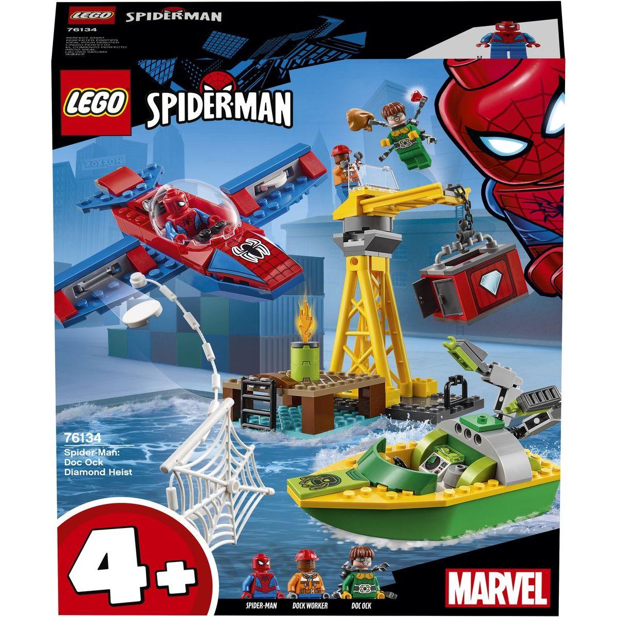 LEGO Super Heroes 76134 Spider-Man: Doc Ock a krádež diamantov