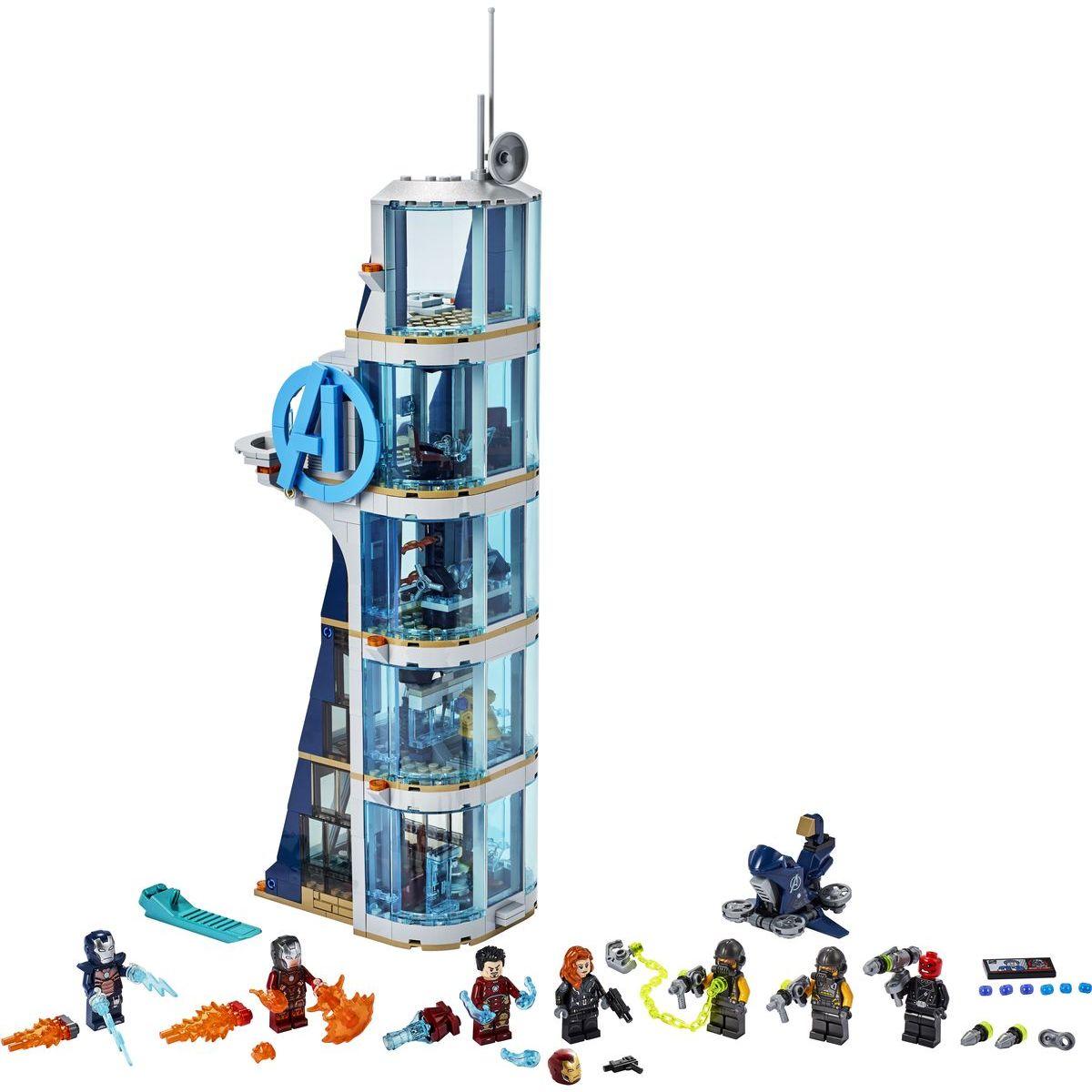 LEGO Super Heroes 76166 Boj vo veži Avengerov