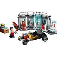 LEGO Super Heroes 76167 Zbrojnica Iron Mana