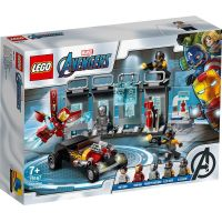 LEGO Super Heroes 76167 Zbrojnica Iron Mana 6