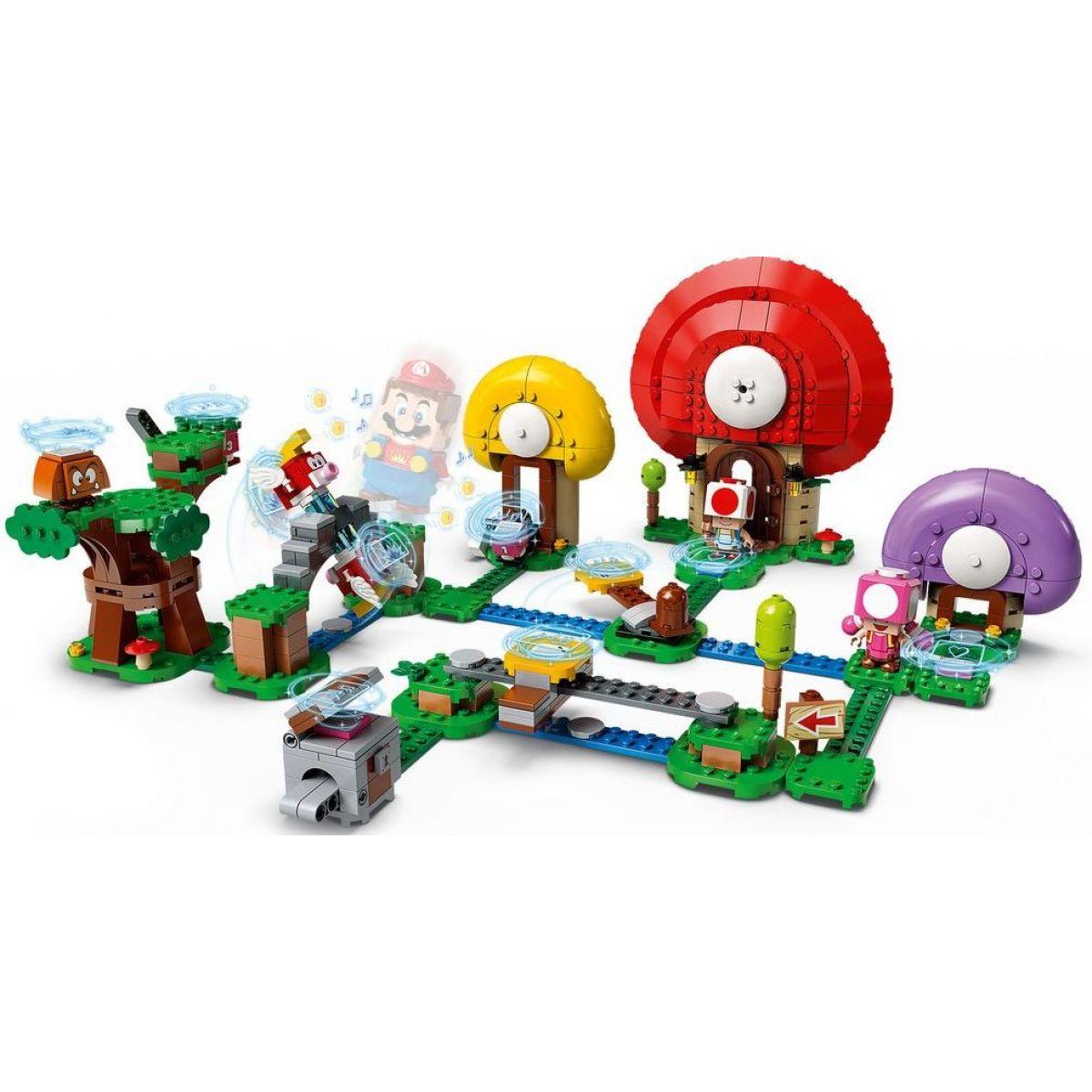 LEGO Super Mario 71368 Toadov hon za pokladom rozširujúci set