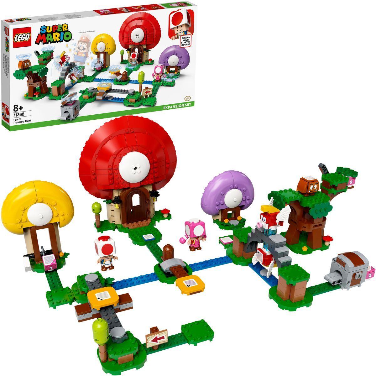 LEGO® Super Mario™ 71368 Toadov hon za pokladom rozširujúci set