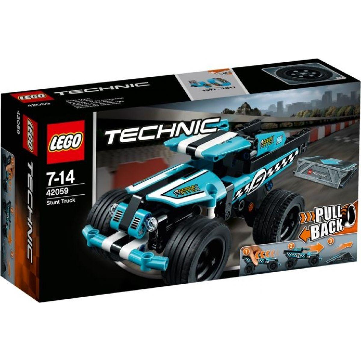 LEGO Technic 42059 Kaskadérsky nákladiak