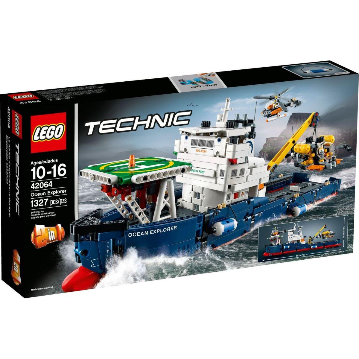 LEGO Technic 42064 Výskumná oceánská loď - Poškodený obal