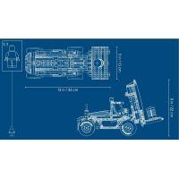 LEGO Technic 42079 Vysokozdvižný vozík 5