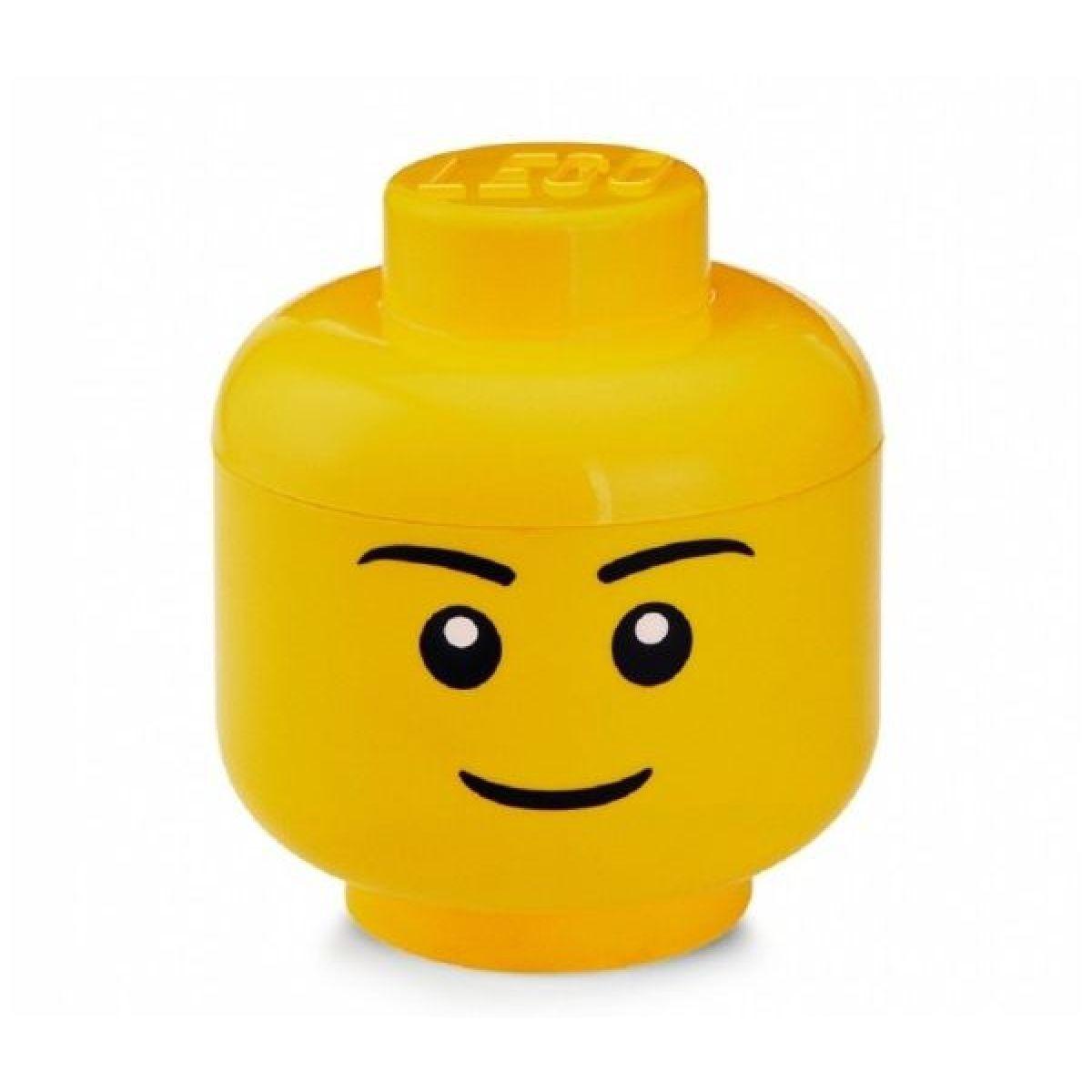 LEGO úložná hlava veľkosť S chlapec