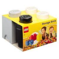 LEGO úložné boxy Multi-Pack 3 ks čierna, biela, šedá 2