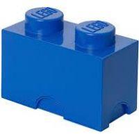 LEGO Úložný box 12,5 x 25 x 18 cm modrý