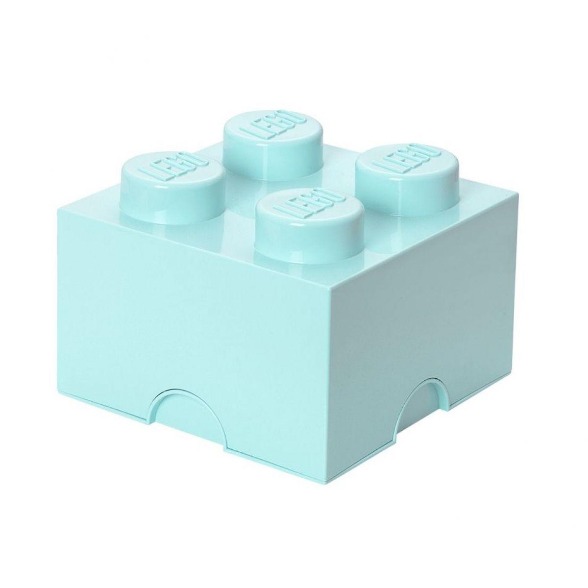 LEGO Úložný box 25x25x18cm Aqua